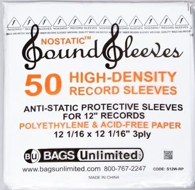 Audio Elite Bags Unlimited - Sound Sleeves Record Sleeves - Main