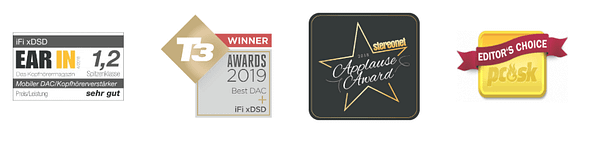 Audio Elite iFi - xDSD Awards