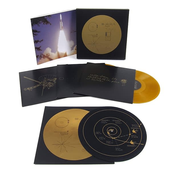 The Voyager Golden Record - Box Set - Open - Audio Elite Colombia