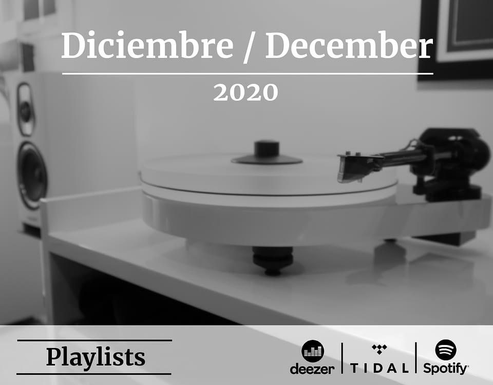 Audio Elite Imagen Destacada Playlist Diciembre 2020 - Blog