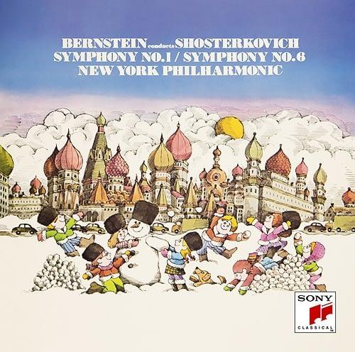 Leonard-Bernstein-New-York-Philharmonic-Shostakovich-Symphonies-No.-1-No.-6-Audio-Elite-Colombia