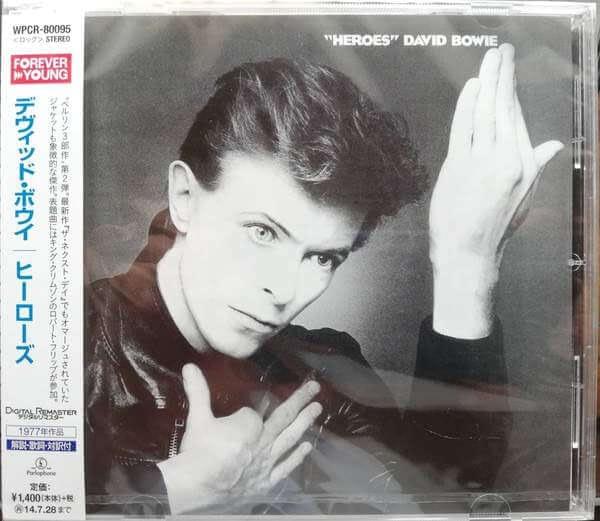 David Bowie – Heroes (Ed. japonesa) - CD