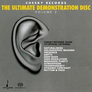 Chesky Records - The Ultimate Demonstration Disc Vol. 2 - SACD