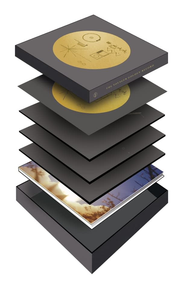 The Voyager Golden Record - Box Set - Box Diagram - Audio Elite Colombia