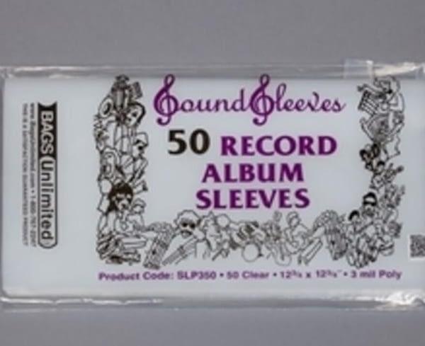 Audio Elite Bags Unlimited SLP350 - Record Album Sleeves x 50